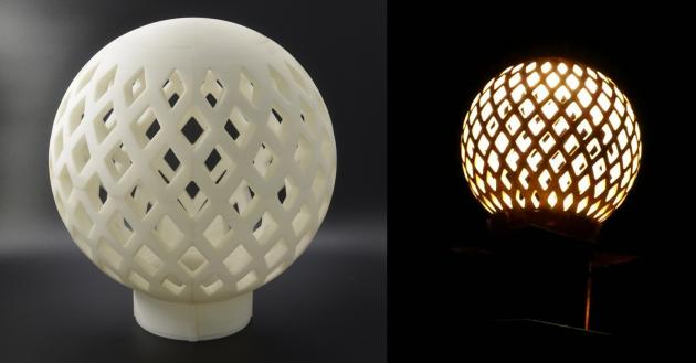 燈罩-<span>結構設計</span> 1